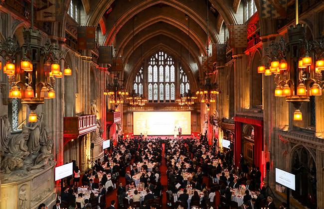 本次大会在伦敦金融城市政厅隆重举行