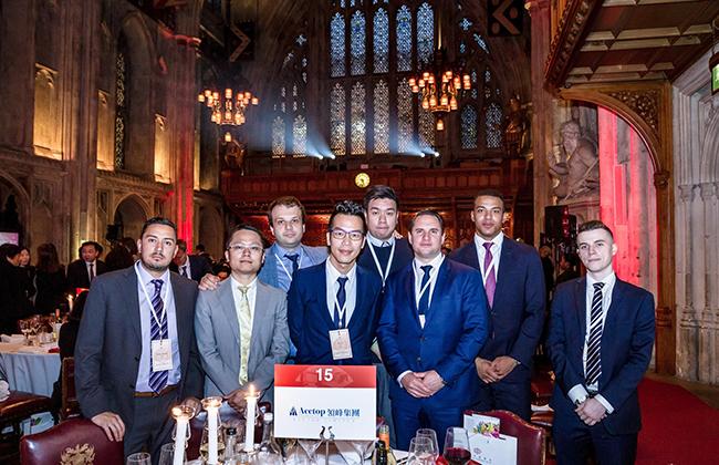 领峰代表团应邀出席英国中国商会2019全体会员大会