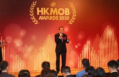前国际狮子总会中国港澳三零三区总监林海涵博士上台发表精彩演讲