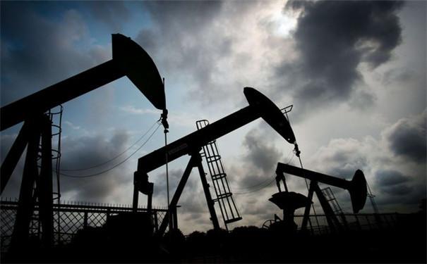 布伦特原油交易K线图