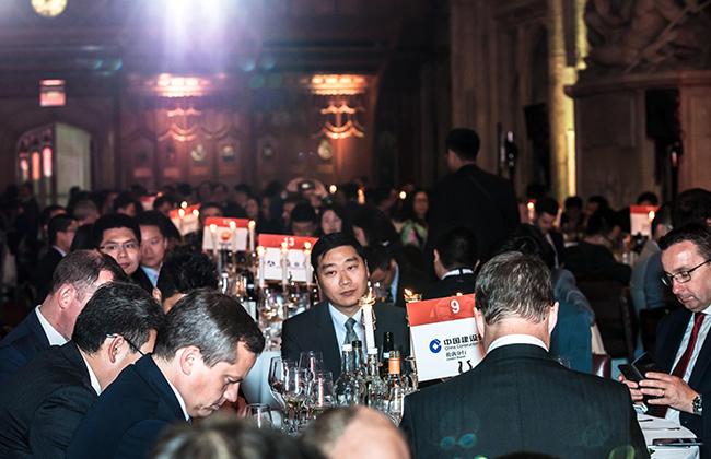 中国建设银行、中国银行等知名金融机构均受邀出席盛会