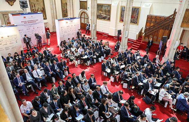 中英经贸论坛旨在推动中英两国深度融合,促进在英中资企业之间的交流